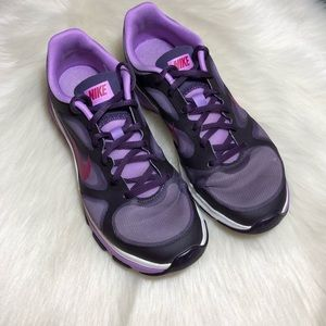 Nike Dual Fusion Purple Running Sneakers